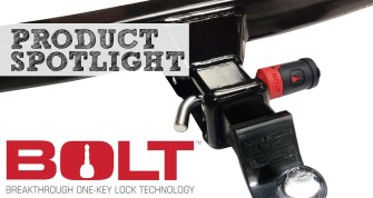 Bolt Trailer Lock-With Your Truck Key!