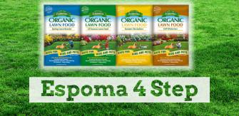 Espoma 4-step: The Organic Solution