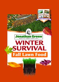 Jonathan green winter survival fall fertilizer