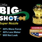 Little Big shot logo made in USA by veterans badge