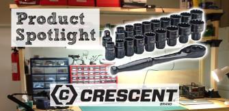 Crescent Pass-Thru Ratchet & Socket Set