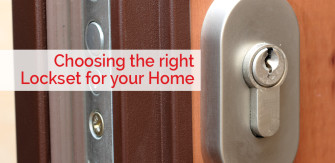 Choosing the Right Lockset for Your Home