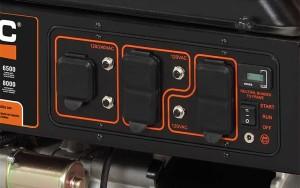 gp6500 control panel