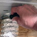 remove dryer vent clamp