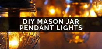 Project Book – Making Mason Jar Pendant Lights