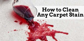 Getting Rid of Carpet Stains
