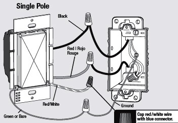 Project Book Installing A Dimmer Switch Koopman Blog - Single pole dimmer switch wiring diagram