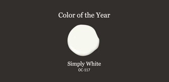 Ben Moore Color of the Year – Simply White
