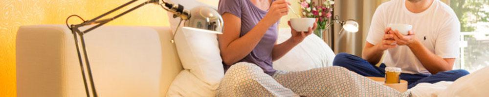 sylvania smartbulbs breakfast in bed