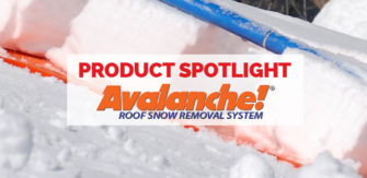 Product Spotlight – Avalanche Roof Snow Removal System