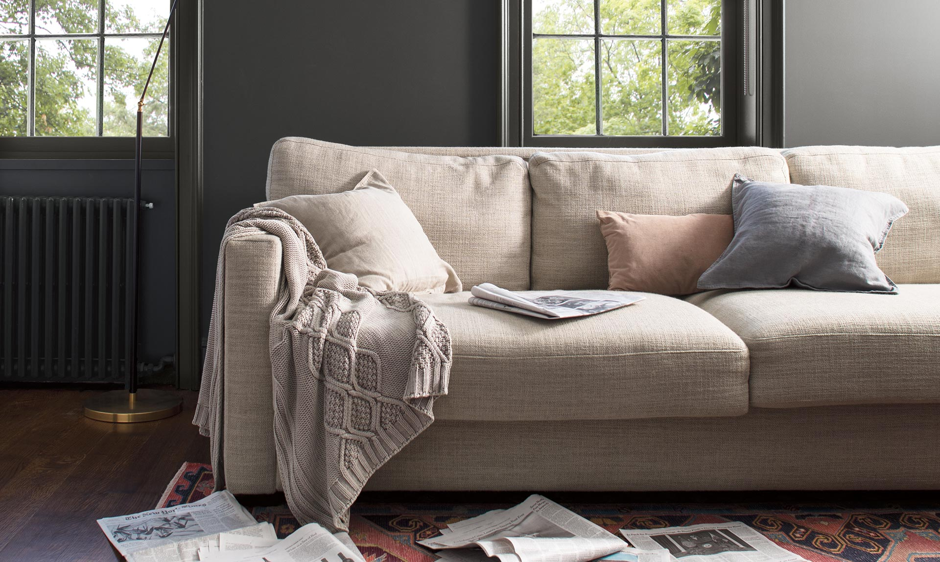 ben moore color of the year 2019 couch