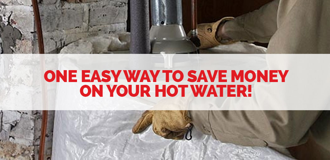 save money on your hot water by insulating your water heater