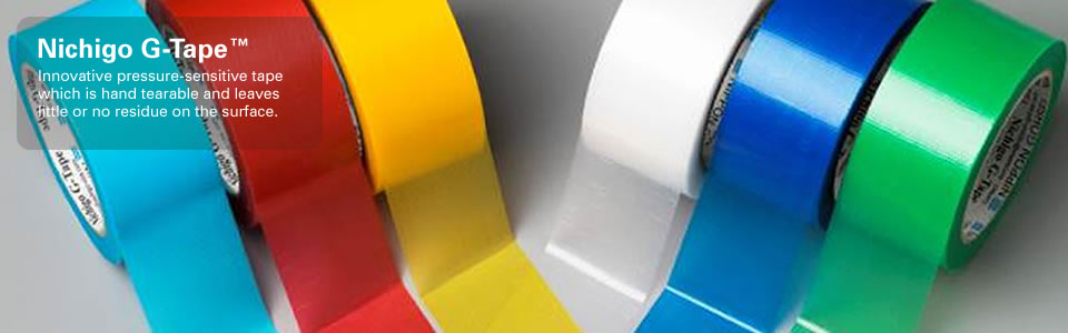 nichigo g-tape product colors