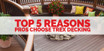 The Top 5 Reasons Why PROS Choose Trex!