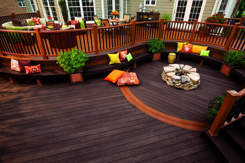 Trex Decking is easy to install