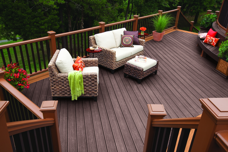 Trex decking is built to last
