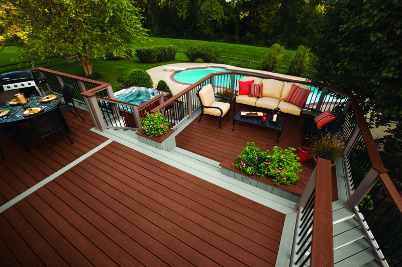 TRex decking is an easy way to go green