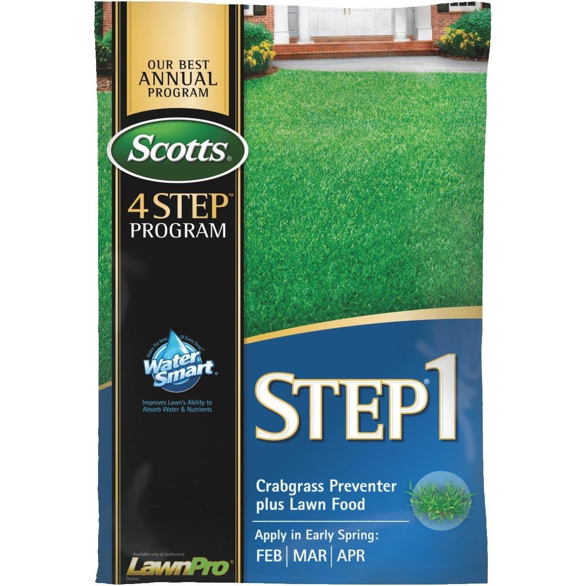 scotts 4 step step 1