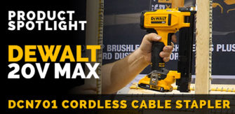Introducing the DeWalt DCN701 Wire Stapler