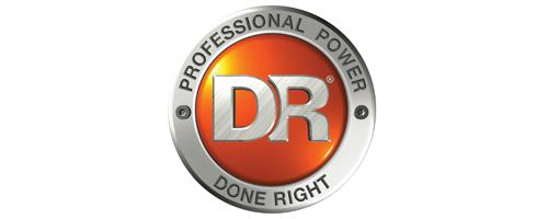D R Power Logo