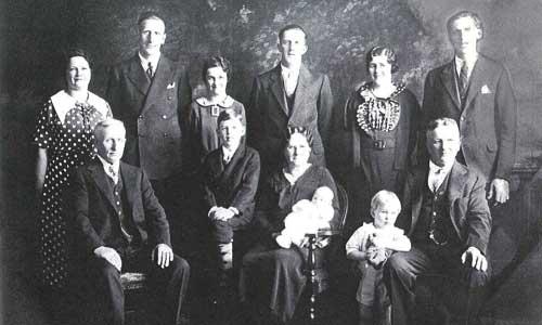 Koopman Family Circa 1936