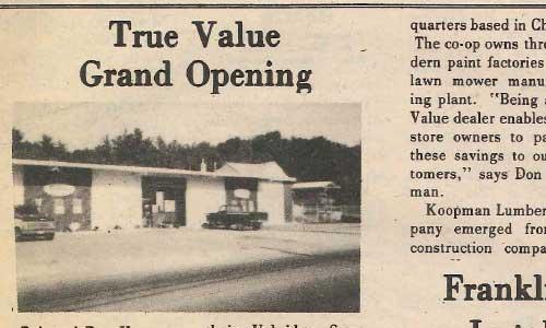 Grand Opening Of Grafton Store